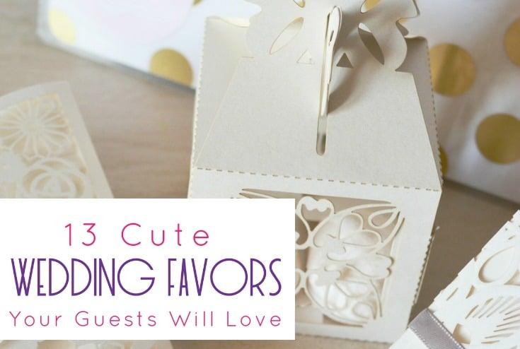 Cute Wedding Favors