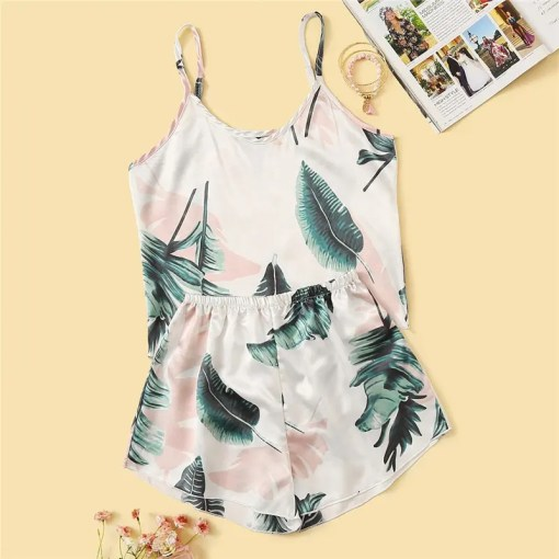 Tropical Printed Satin Sleepwear Set.jpg