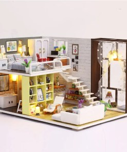 Miniature Wooden Doll House