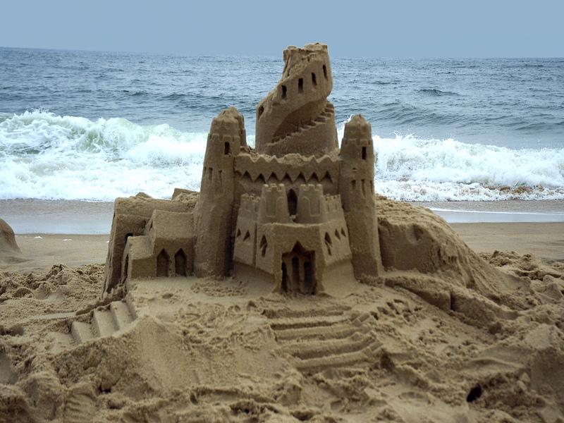 beach-sand-castle