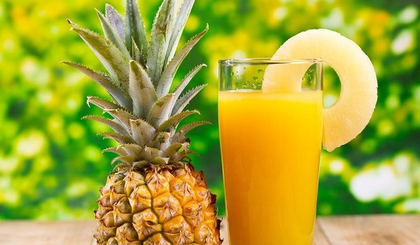 Can we drink pineapple juice on empty stomach