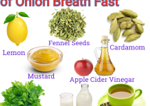 how to get rid of onion breath fast