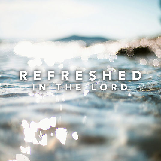 God Satisfies & Refreshes The Weary, In Himself