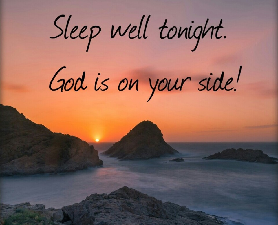 Rest On All Sides In God's Peace