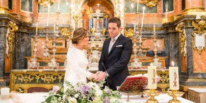 Sandra e Ivan boda religiosa