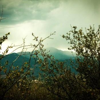 Pikes peak, rainy