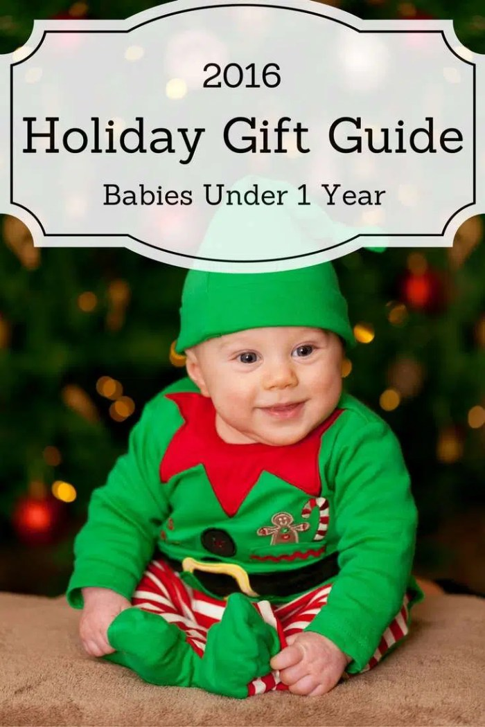 2016 Holiday Gift Guide for Babies Under 1 Year