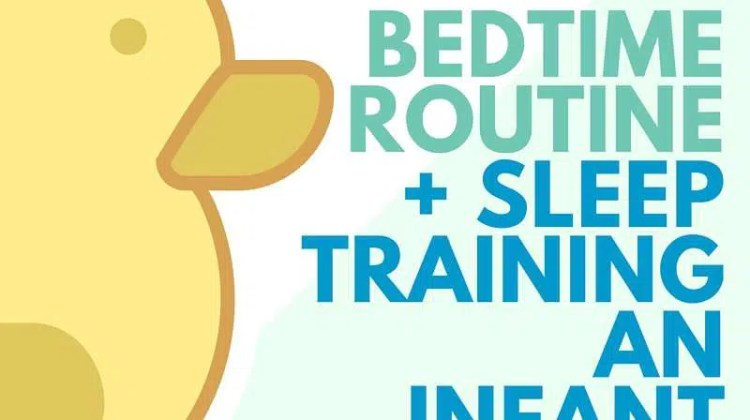Bedtime Routine + Sleep Training