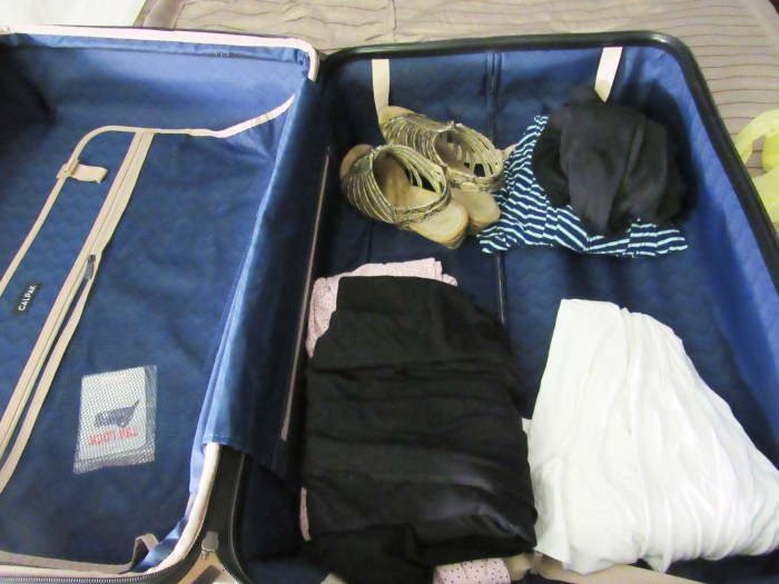 Packing Your Luggage