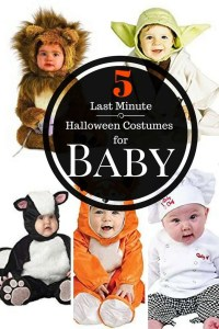 5 Last Minute Halloween Costumes for Baby