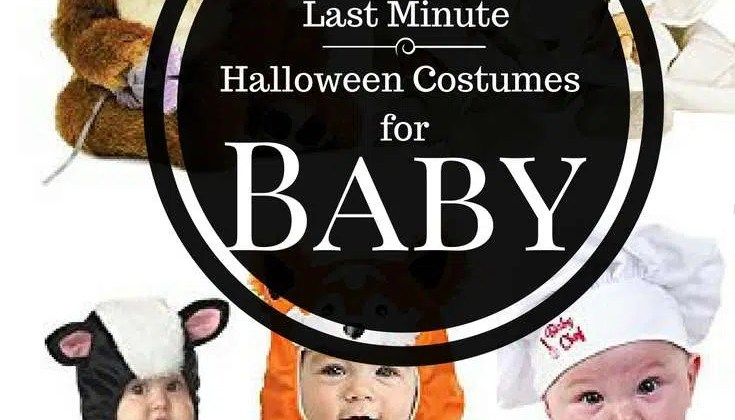 5 Last Minute Halloween Costumes for Babies