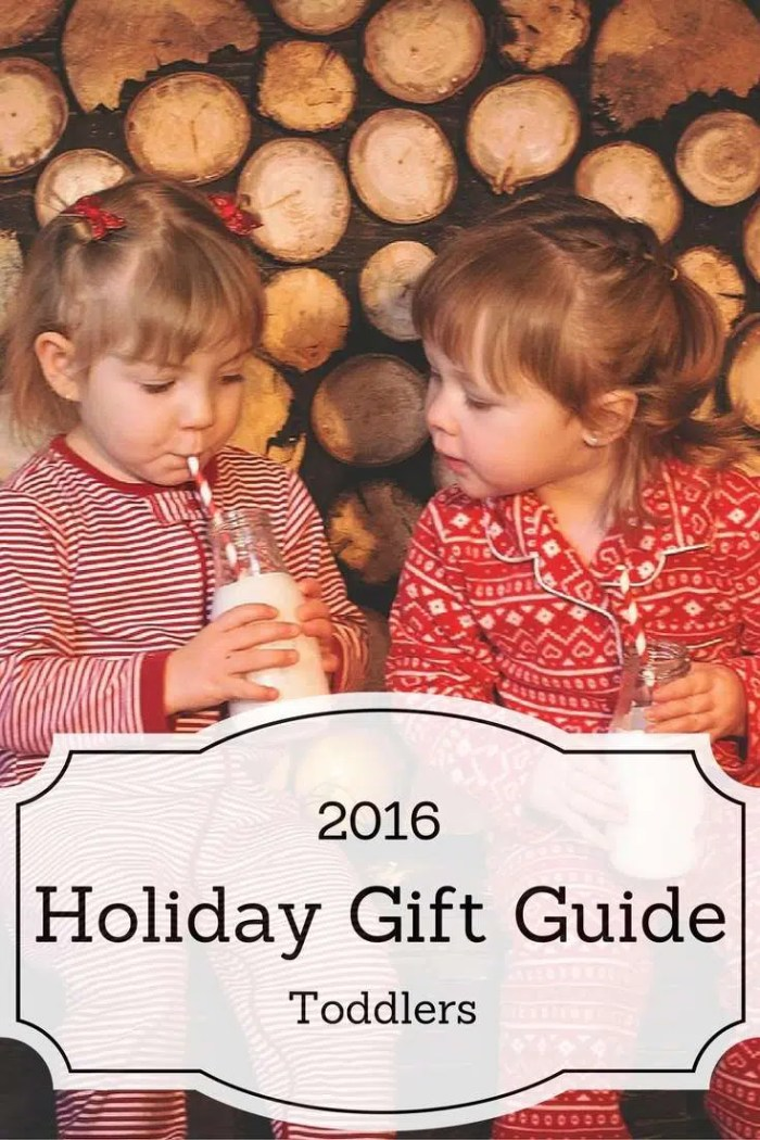 2016 Holiday Gift Guide for Toddlers