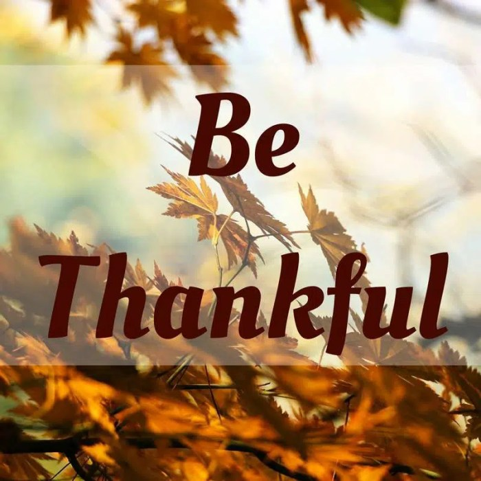 be-thankful