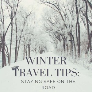 Winter Travel Tips: Staying Safe on the Road {AD} SCDaretoCompare
