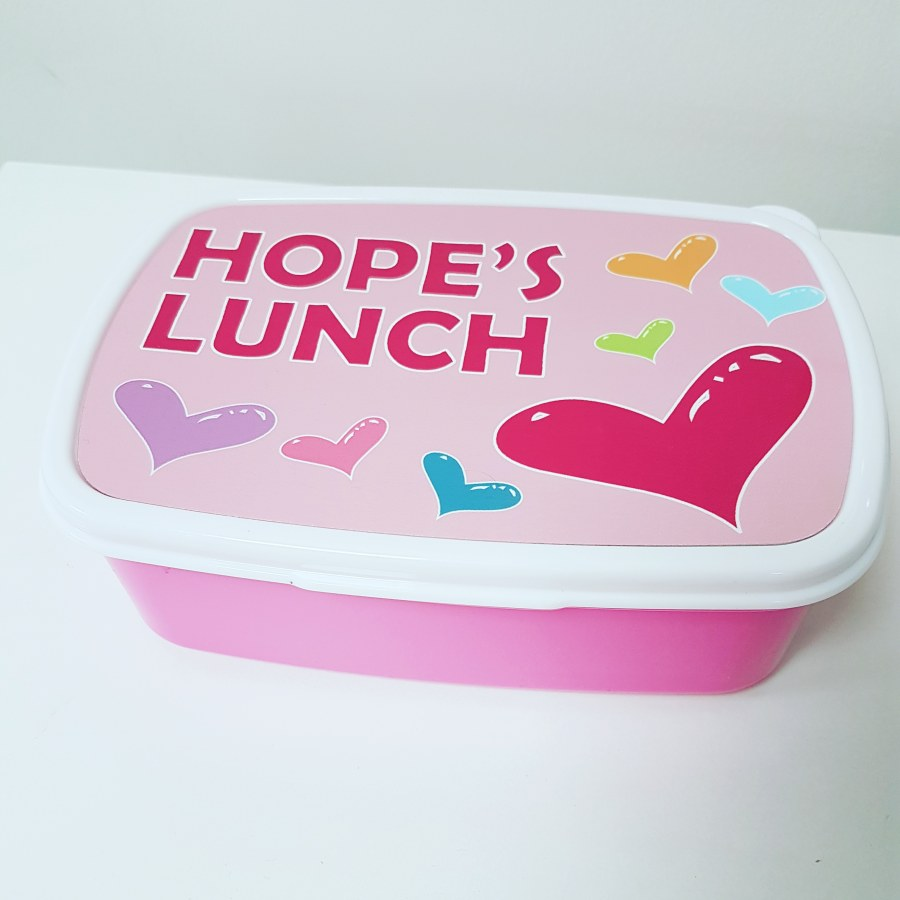 Personalised Lunch Box for Kids
