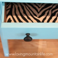 Quick & Easy DIY Fabric Lined Drawer