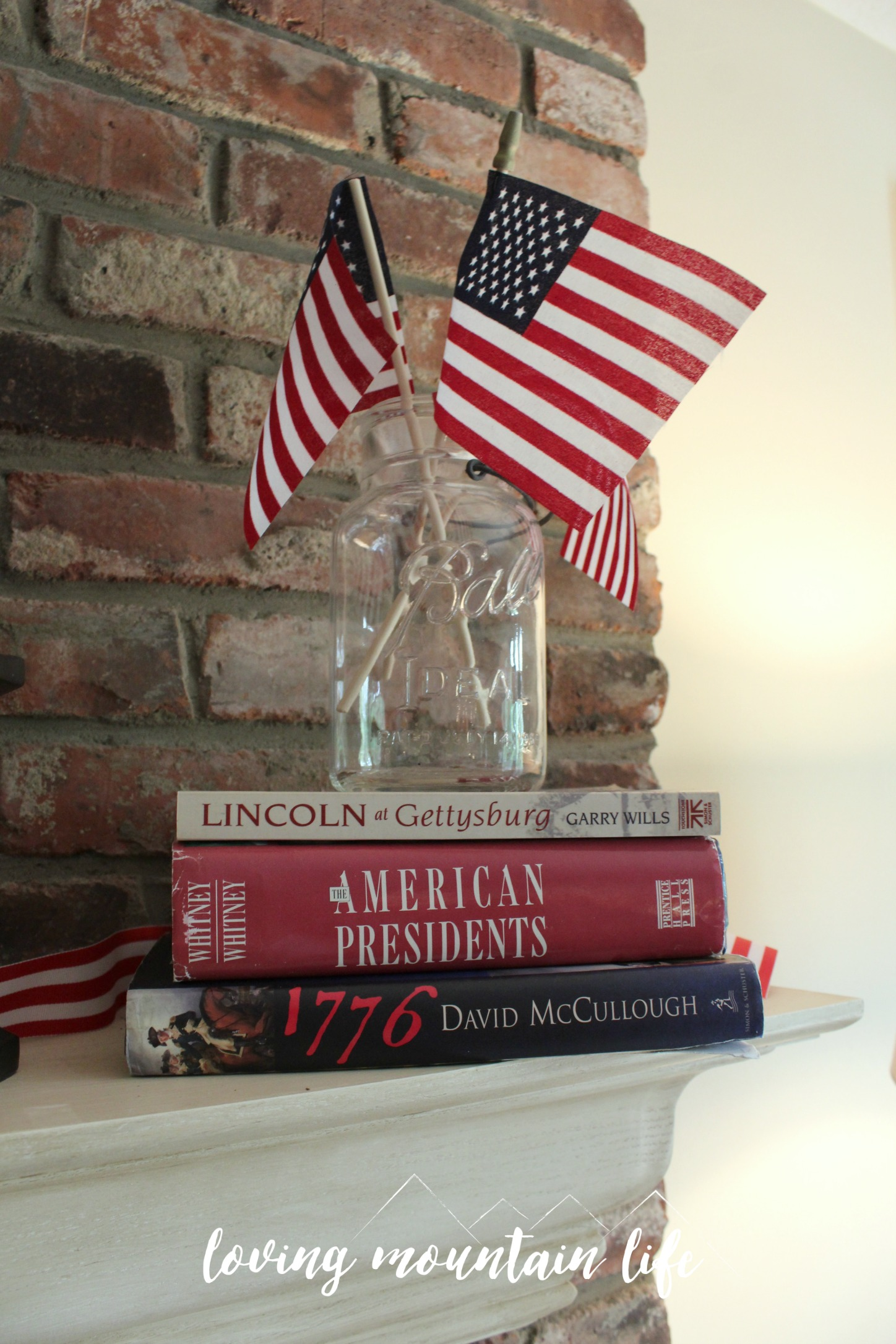 Easy Diy Patriotic Decor A Free Beautiful Printable Loving