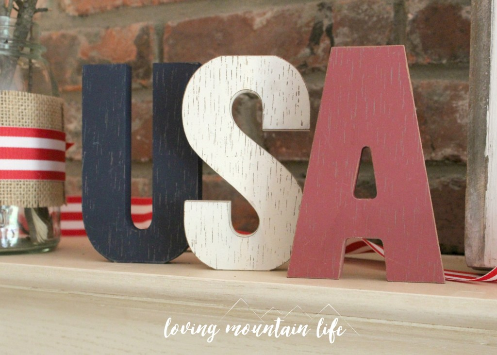 Easy and Beautiful DIY Patriotic Decorations from Loving Mountain Life8