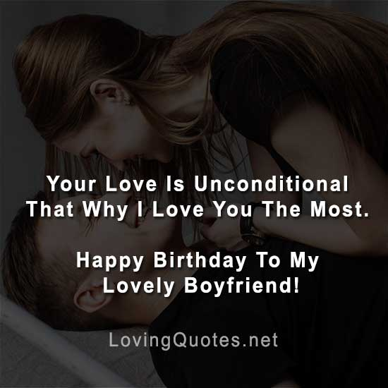 Happy Birthday Message For Boyfriend Facebook Love Quotes Sayings With Images