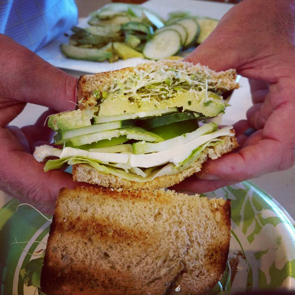 green goddess sandwich