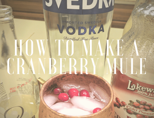 how to make a cranberry mule
