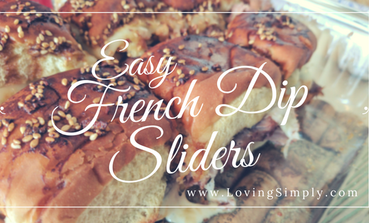 easy french dip sliders
