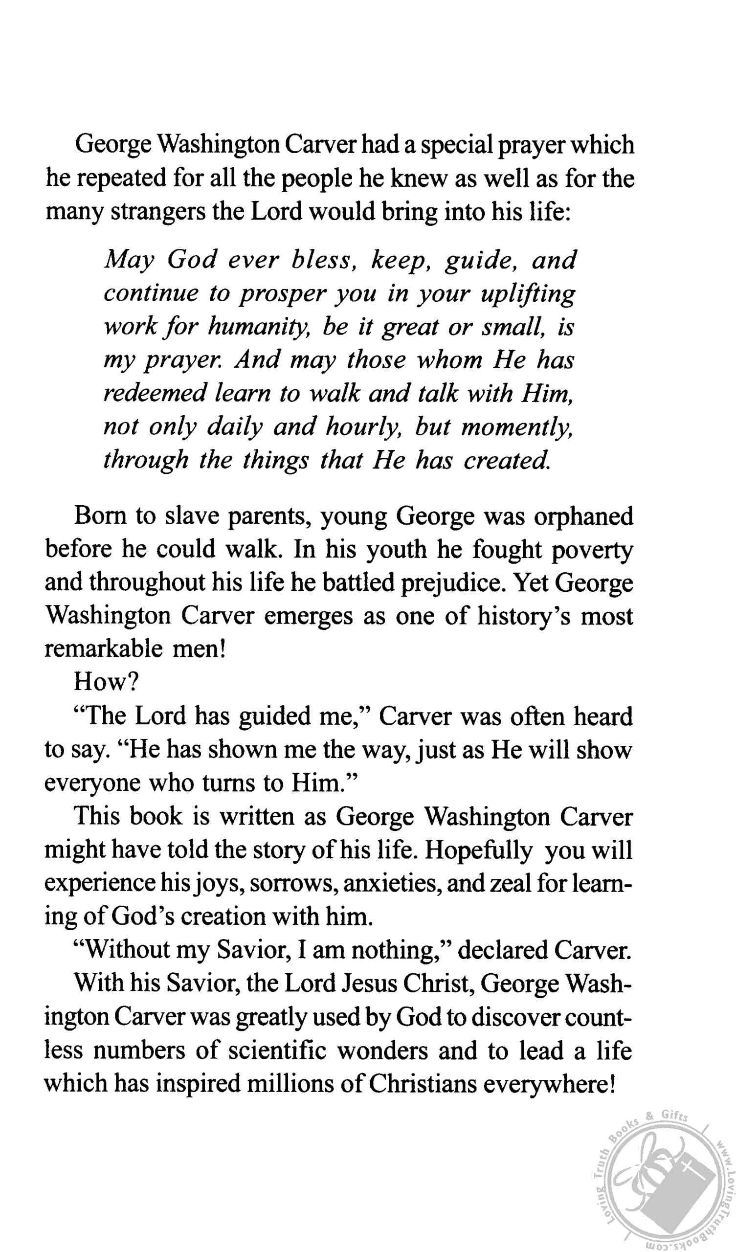 George Washington Carver Man S Slave Becomes God S