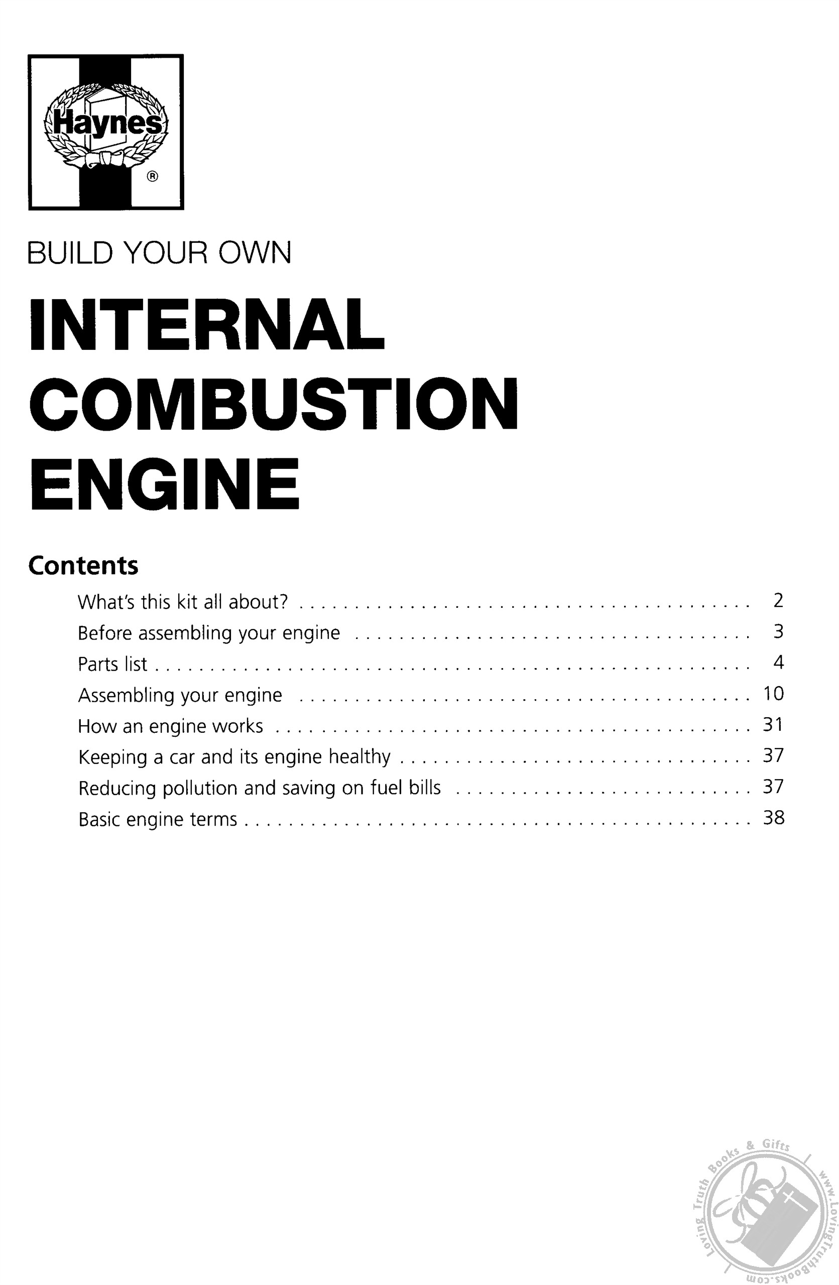 Haynes Build Your Own Internal Combustion Engine A