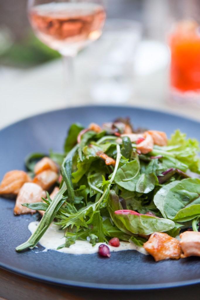 vintage garden salmon salad