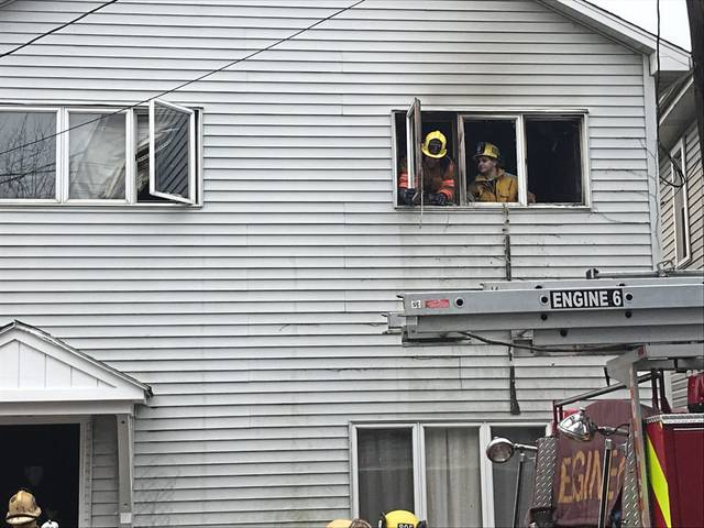 No injuries were reported in a bedroom fire at 321 South Maple Ave. home on Saturday afternoon in Greensburg.
