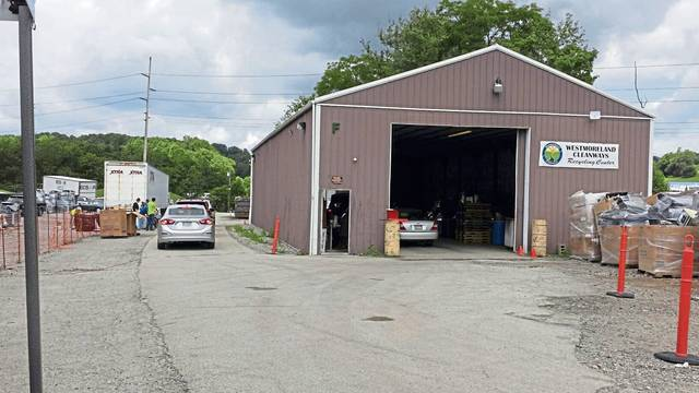 Westmoreland Cleanways and Recycling's current recycling center is located on Innovation Lane, off Route 30 in Unity Township.