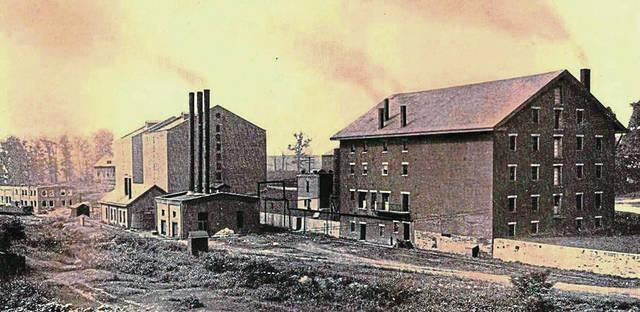 West Overton Distilling Co., around 1910.
