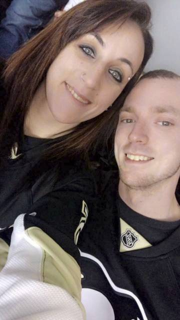 Monica Lea and Justin Bibel. Justin Bibel was killed after a crash near Westmoreland Mall.