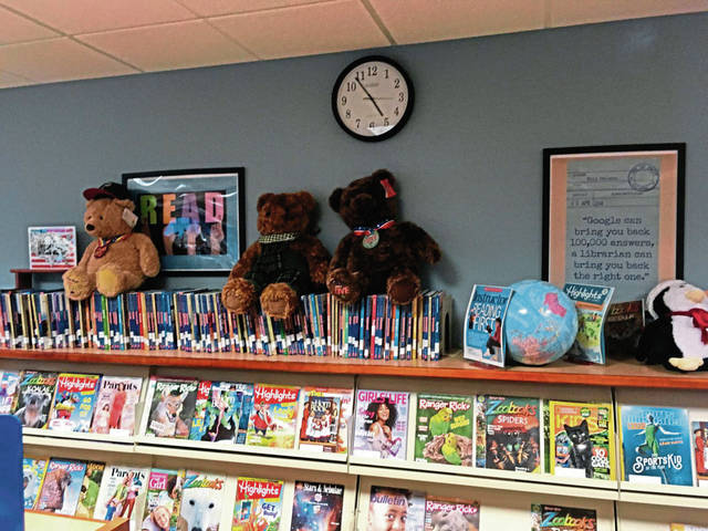 The children's library room at Norwin Public Library.