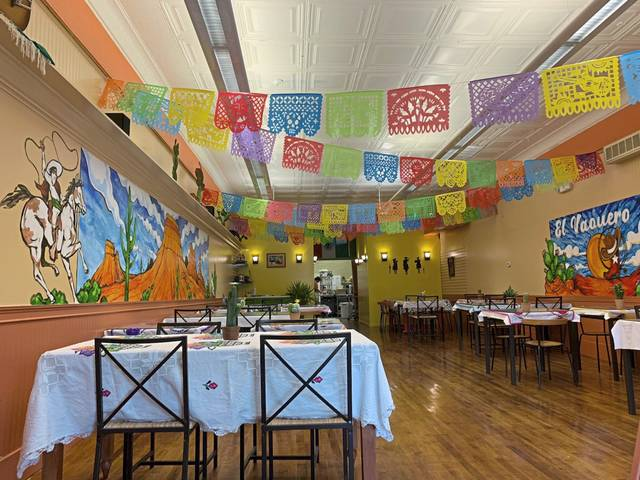 The inside of El Vaquero Mexicano in Ligonier.