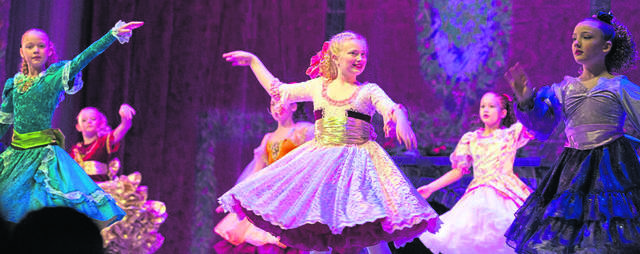 """A scene from Laurel Ballet's performance of """"The Nutcracker,"""" on Dec. 14, 2019, in The Palace Theatre in Greensburg.                                 A scene from 'The Nutcracker', presented by the Westmoreland Symphony Orchestra and Laurel Ballet, held at the Palace Theatre in Greensburg on Saturday afternoon, December 14, 2019."""