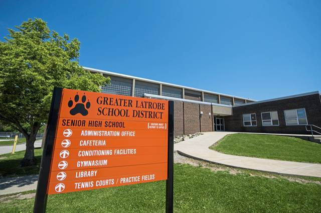 The senior high school at Greater Latrobe School District, photographed on Saturday, June 03, 2017.