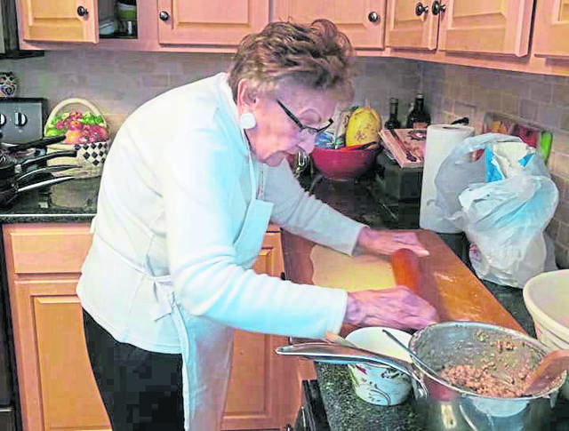 """Facebook baking sensation Lucy Pollock, 98, of Latrobe, shared her skills Wednesday morning on NBC's """"Today."""""""