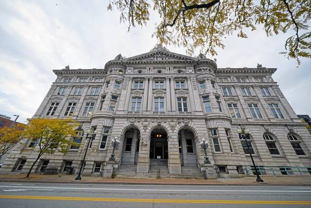 The Westmoreland County Courthouse in Greensburg on Wednesday, Oct. 21, 2020.