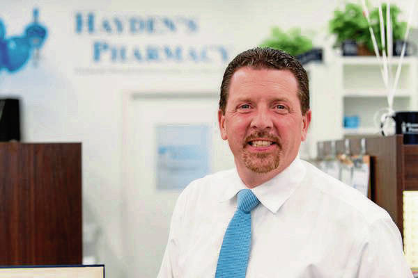 Pharmacist Ed Christofano, owner of Hayden's Pharmacy, vaccinated about 900 people during a one-day clinic in Hempfield with the help of a group of volunteers.