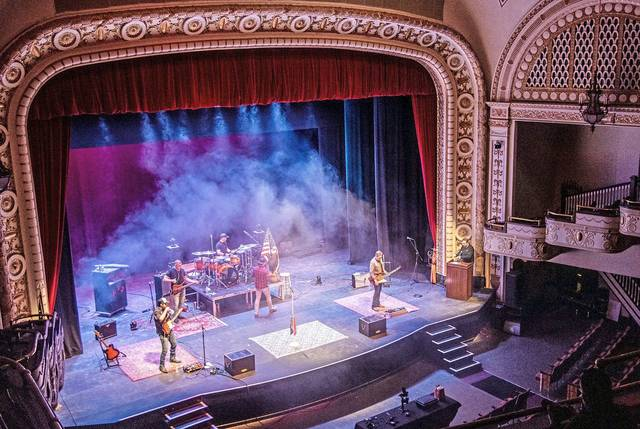 The Andy Davis Band performed Feb. 25 in The Palace Theatre, as part of Westmoreland Cultural Trust's VIP Experience virtual concert series.