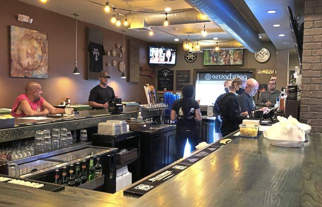 Oliver's Pourhouse in Greensburg underwent some renovations, including a new bar top, during the pandemic closure.