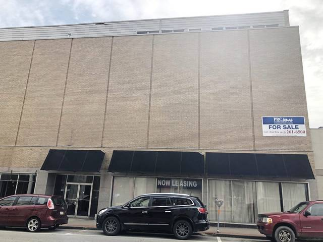Former Royer's department store building on South Main Street in Greensburg, the target for conversion to 42 apartments.