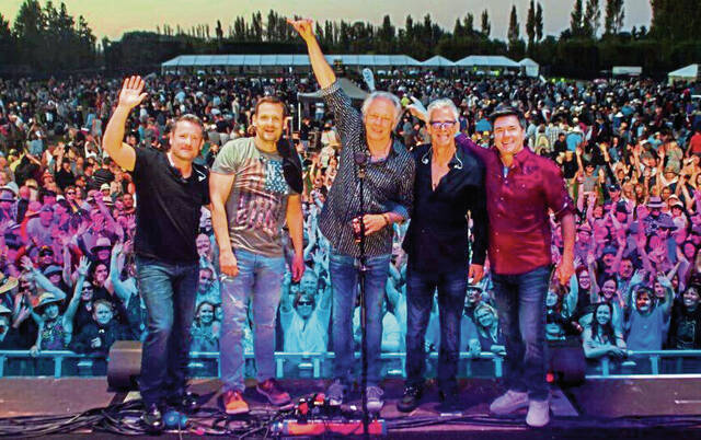 The Little River Band, shown at a 2019 concert in New Zealand, will be at The Palace Theatre in Greensburg on Oct. 15.