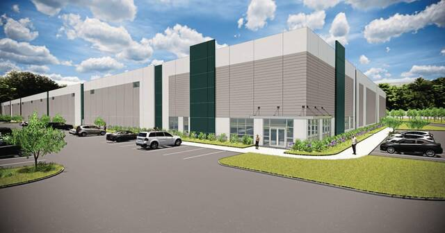 WCIDC officials provided a rendering of the facility Al. Neyer plans to begin building in October 2021 at Commerce Crossing at Westmoreland in Sewickley Township.