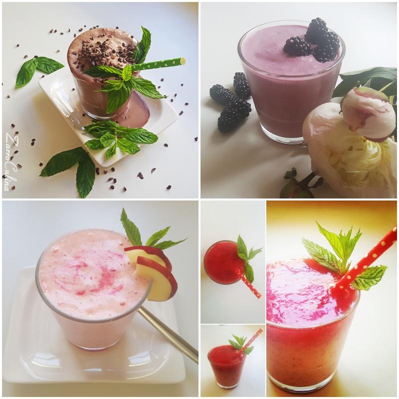Nicecream collage verschiedene Sorten