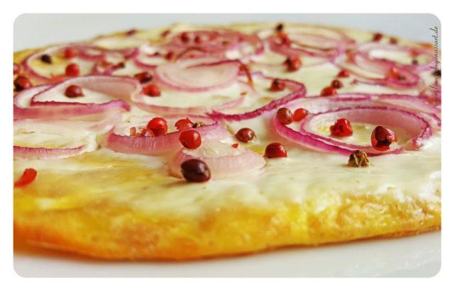 ♡ Vom Lowcarb Pizzaboden zum feinen Flammkuchen