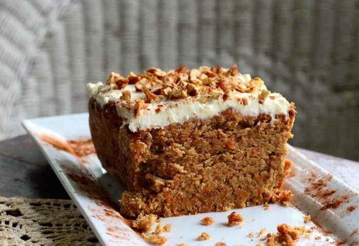 Low Carb Carrot Cake With A Splash Of Rum Gf Lowcarb Ology
