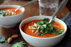 spicy tomato bell pepper soup