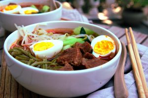 chinese beef noodle soup – low carb style